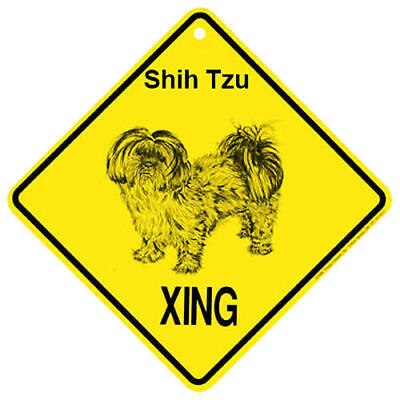2017 Shih Tzu Puppy Cut Xing Sign,   by KC Creations