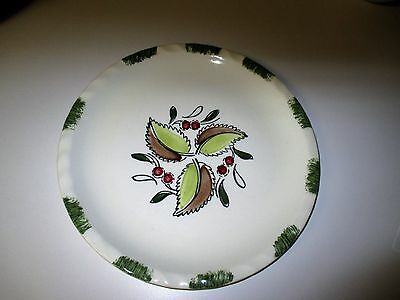 Vintage Blue Ridge Pottery Wild Cherry Dinner Plate Southern Potteries
