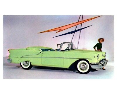 1955 Oldsmobile Super 88 Convertible Factory Photo ca8869