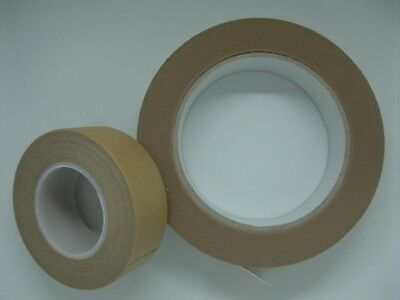 Brown picture framing tape self adhesive 25m or 50m rolls 25mm wide