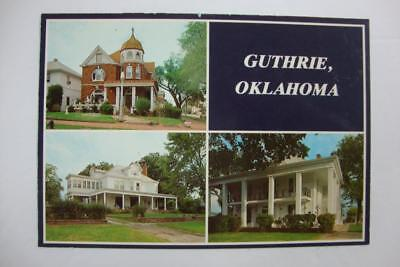 766) Guthrie Oklahoma Some Of The Many Historic Homes Found In Guthrie Oklahoma