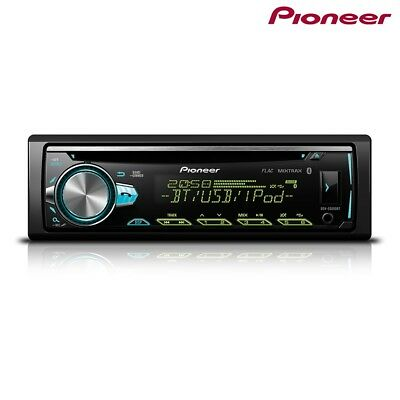 Pioneer DEH-S5000BT Radio de Coche Bluetooth Spotify USB CD Aux para IPHONE