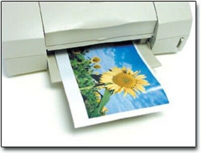 """5 SHEETS 14-16 mil GLOSSY INKJET MAGNET PAPER 8.5"""" x 11 MAGNETIC PRINT PHOTOS"""