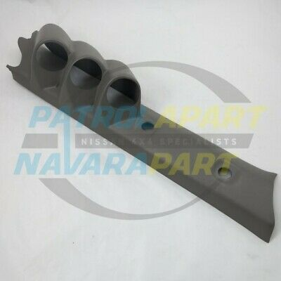 Nissan Patrol GU Pillar Pod Three gauge 52mm Gauges Colour K (PGP52X3GU-K)
