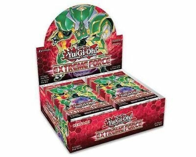 Yu-Gi-Oh Trading Card Game Extreme Force Booster Box New/Sealed NOW SHIPPING