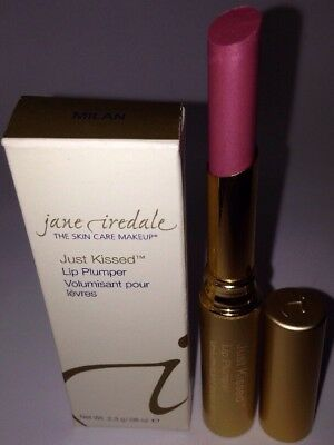 Jane Iredale Just Kissed Lip Plumper *MILAN* Sheer Peach Brand New in Box $25