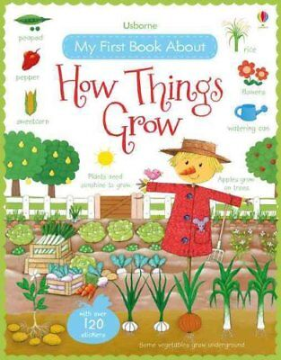 My First Book About How Things Grow by Felicity Brooks 9781409593584