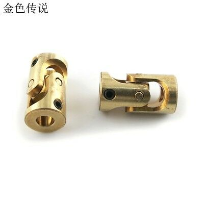 Brass Mini Cardan 3MM-3MM Counpling Universal joint for DIY Car Boat Toy
