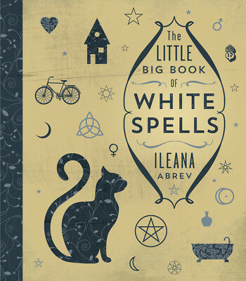 LITTLE BIG BOOK OF WHITE SPELLS Wicca Wiccan Witch Witchcraft Magick Pagan