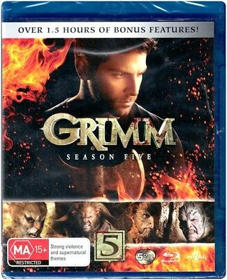 """GRIMM : SEASON 5"" Blu-ray - Region [B] NEW - CLEARANCE -"