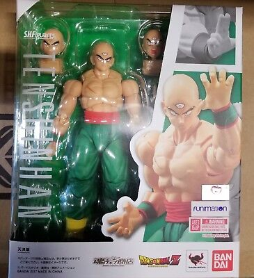 S.H Figuarts Tien Shinhan Dragon Ball Z Action Figure Bandai AUTHENTIC IN STOCK