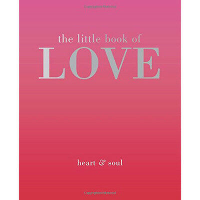 Little Book of Love (The Little Books) By Tiddy Rowan Hardcover NEW