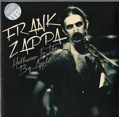 """FRANK ZAPPA """"HALLOWEEN IN THE BIG APPLE 1977""""  lp clear vinyl limited sealed"""