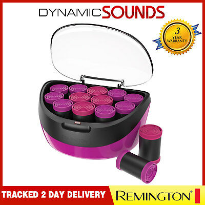 Remington H5670 Jumbo Curls Heated Rollers Ceramic Ionic Hair Rollers