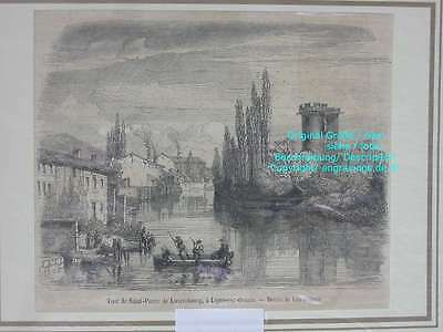 76721-Luxemburg-Luxembourg-Ligny-sur-Ornain-T Holzstich-Wood engraving