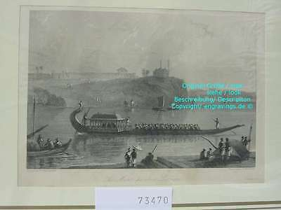 73470-Asien-Asia-Indien-India-Lucnow Moar punkee-Stahlstich-Steel engraving