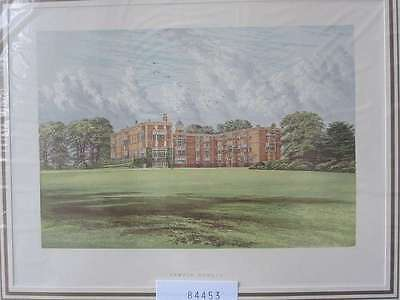 84453-GB-England-Great Britain-Temple Newsam-Yorkshire-Lithographie-Lithography