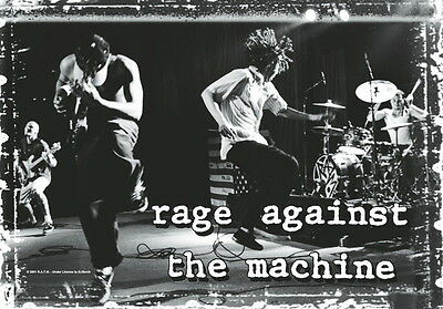 "Rage Against The Machine Flagge / Fahne ""live"" Poster Flag Posterflagge"