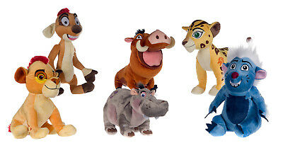 "New Official 12"" Disney Lion Guard Plush Soft Toys 6 Assortment"