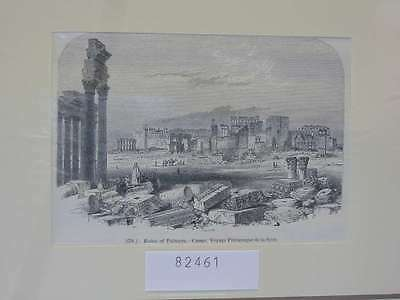 82461-Asien-Asia-Syrien-Syria-Palmyra-T Holzstich-Wood engraving
