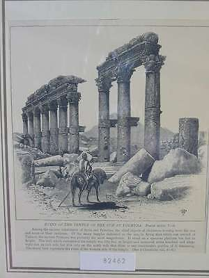 82462-Asien-Asia-Syrien-Syria-Palmyra-T Holzstich-Wood engraving