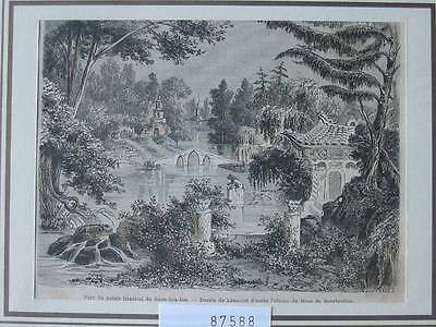 87588-Asien-Asia-China-Palais Imperial-Suan-hoa-fou-T Holzstich-Wood engraving