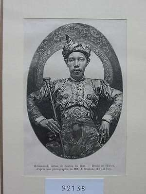 92138-Philippinen-Philippines-Pilipinas-Sultan Soulou-T Holzstich-Wood engraving