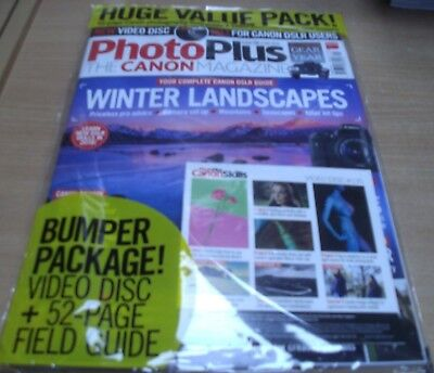 PhotoPlus The Canon magazine #135 Feb '18 Winter Landscapes +52 page Field Guide