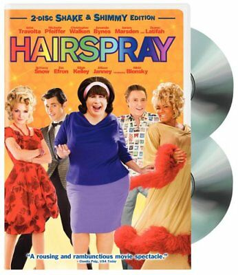 Hairspray (Two-Disc Shake & Shimmy Edition) [DVD] NEW!