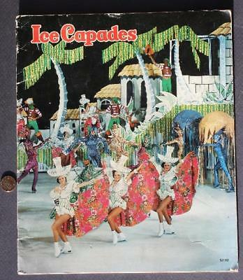 1977 Ice Capades Hanna Barbera Hair Bear Bunch-Scooby Doo-Flintstones program!