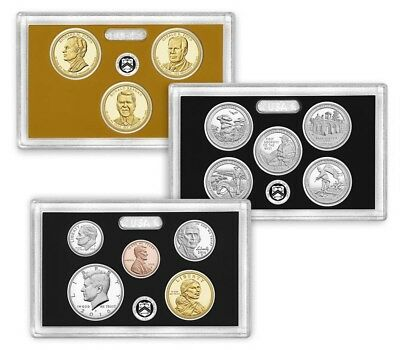 2016 S U.S. Mint 90% Silver Proof set (13) coins with Native American & Quarters