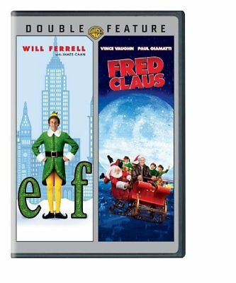 Elf & Fred Claus [DVD] NEW!