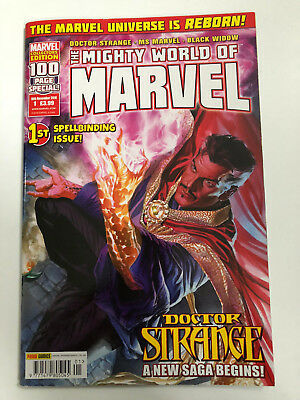 The Mighty World Of Marvel. Volume 6 # 1 16Th Nov 2016 Panini Comics Dr Strange