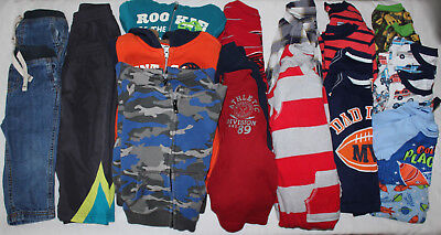 TWIN Boy Clothes size 18-24 months Hoodies Jeans Shirts Pants Lot Children Place