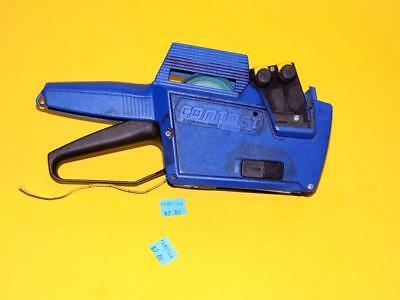 Garvey Double Line Price Marking Gun Labeler Made In Germany  + Free Shipping