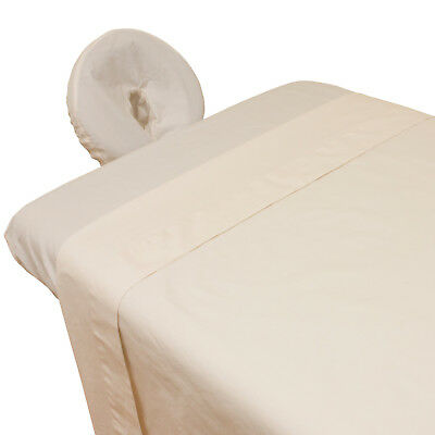 Organic Cotton Percale Massage Table Sheet Set