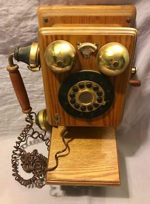 Vintage Style 1927 Spirit Of St Louis Push Button Wall Style Telephone Phone