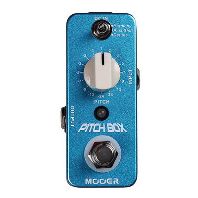 New Mooer Pitch Box Micro Guitar Effects Pedal!