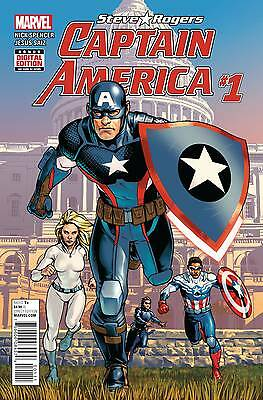 CAPTAIN AMERICA STEVE ROGERS #1, New, First print, Marvel Comics (2016)
