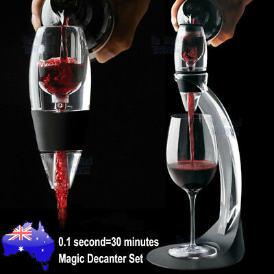Magic Decanter Essential Red Wine Portable Aerator Sediment Filter Pouch Pourer