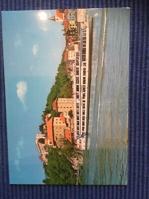 Postcard MS Donau Ship Germany Passau with Europa stamp and Special Stempel 1984