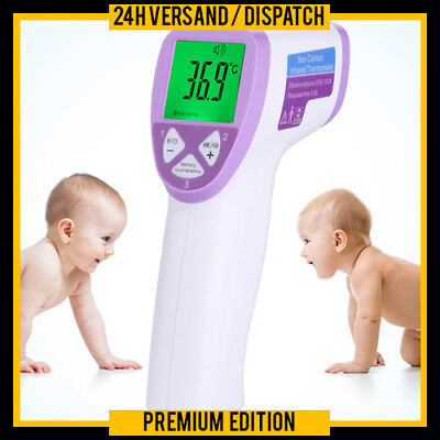 Digitales Infrarot Thermometer Baby Kind Stirn Thermometer Kontaktlos Ft1