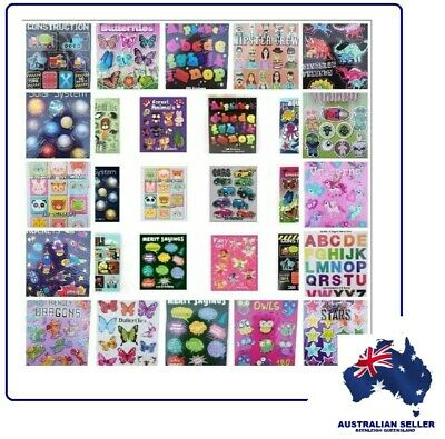 """""""MINI STICKER BOOKS"""" NEW BOOKS ADDED! Now Over 90 Themed Books To Choose From"""