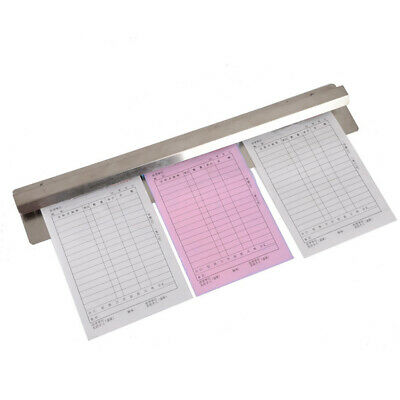 30cm Metal Order Grabber | Tab Bill Check Ticket Waiter Food Pad Wall Holder
