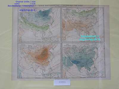 42055-Asien-Asia-LANDKARTE-KARTE-MAP-Lithographie-Lithography-1890