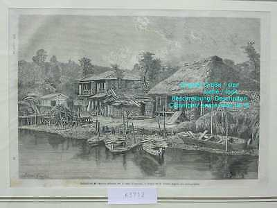 63712-Asien-Japan-Nippon-Nihon-Canal Omoura-TH-1865