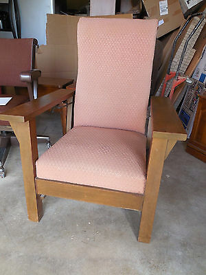 Vintage reclining Morris chair arts & crafts era