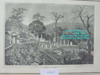 69967-Japan-Nippon-Nihon-Nagasaki Friedhof-TH 1880