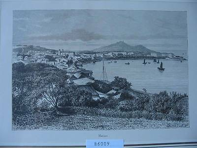 86009-China-Macao-Holzstich-wood Engraving