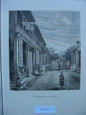 86025-China-Hongkong-Holzstich-wood Engraving